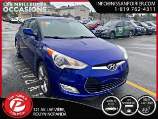 Used 2012 Hyundai Veloster w/Tech for sale in Rouyn-Noranda, QC