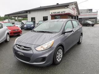 Used 2017 Hyundai Accent Hayon 5 portes, boîte automatique, LE for sale in Sherbrooke, QC