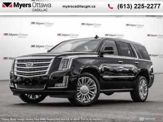 New 2020 Cadillac Escalade Platinum  LOADED PLATINUM DEMO MODEL. ALL OPTIONS, BEST PRICE IN CANADA for sale in Ottawa, ON