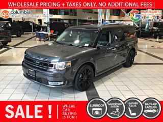 Used 2019 Ford Flex SEL AWD - Local / No Accident for sale in Richmond, BC