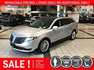 Used 2019 Lincoln MKT Reserve 3.5L AWD - No Accident / Local / No Dealer Fees for sale in Richmond, BC