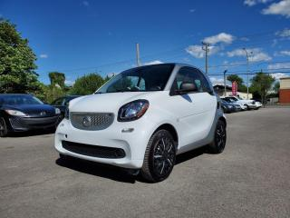 Used 2016 Smart fortwo Passion *BT*NAV*SIÈGES CH* 50$/SEM for sale in St-Jérôme, QC