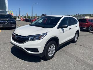 Used 2016 Honda CR-V Traction intégrale 5 portes LX for sale in Rivière-Du-Loup, QC