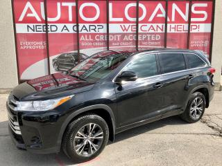 Used 2018 Toyota Highlander LE-ALL CREDIT ACCEPTED for sale in Scarborough, ON