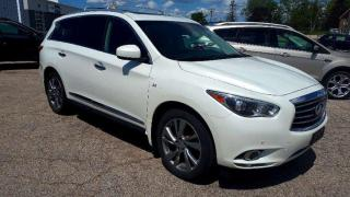 Used 2015 Infiniti QX60 AWD | LEATHER | TWIN ROOF | DUAL DVD HEADRESTS | NAVIGATION for sale in Listowel, ON