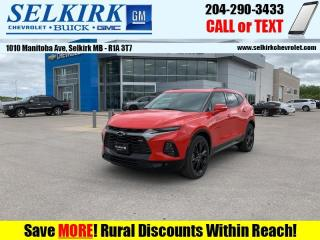 New 2020 Chevrolet Blazer RS  - Navigation -  Leather Seats for sale in Selkirk, MB
