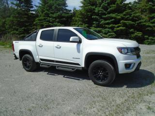 Used 2016 Chevrolet Colorado LT Z71 OFF ROAD TRAIL BOSS CREW CAB  4WD  / for sale in Beaverton, ON