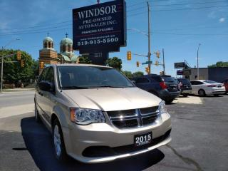 Used 2015 Dodge Grand Caravan CANADA VALUE PACKAGE for sale in Windsor, ON