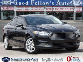 Used 2016 Ford Fusion SE MODEL, POWER & HEATED SEATS, REARVIEW CAMERA for sale in Toronto, ON