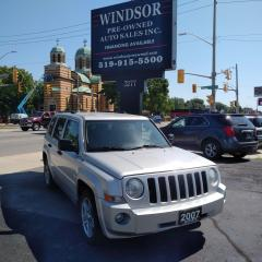 Used 2007 Jeep Patriot SPORT for sale in Windsor, ON