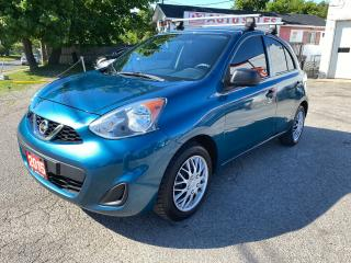 Used 2015 Nissan Micra Comes Certified/5 Speed Manual/Gas Saver for sale in Scarborough, ON