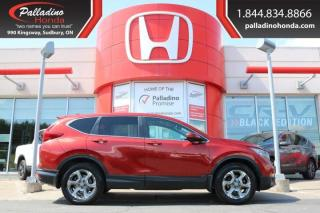 Used 2017 Honda CR-V EX-L- ALL WHEEL DRIVE, TURBO, HEATED LEATHER SEATS for sale in Sudbury, ON