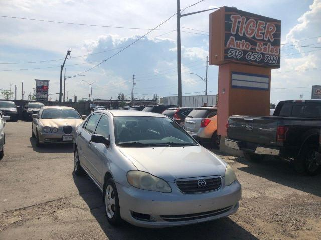 2006 Toyota Corolla CE**AUTO**CLEAN BODY**OILED**RUNS WELL**AS IS