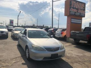 Used 2005 Toyota Camry LE*WELL MAINTAINED*VERY CLEAN*DRIVES PERFECT*AS IS for sale in London, ON