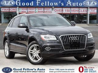 Used 2016 Audi Q5 PROGRESSIVE, S LINE SPORT, QUATRO, LEATHER SEATS for sale in Toronto, ON