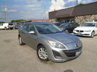 Used 2010 Mazda MAZDA3 4dr Sdn Auto GT Navigation B-tooth Sunroof  leathe for sale in Oakville, ON