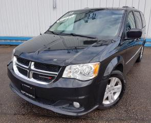 Used 2017 Dodge Grand Caravan Crew *LEATHER-DVD PLAYER* for sale in Kitchener, ON