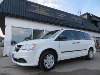 Used 2012 Dodge Grand Caravan SE,7 PASSENGERS, REAR STOW AND GO, CERTIFIED for sale in Mississauga, ON