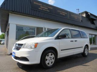 Used 2012 Dodge Grand Caravan SE, 7 PASSENGERS, REAR STOW AND GO, CERTIFIED for sale in Mississauga, ON