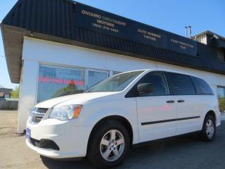 Used 2013 Dodge Grand Caravan ALLOYS,7 PASSENGERS,REAR STOW AND GO, CERTIFIED for sale in Mississauga, ON