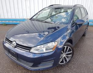 Used 2016 Volkswagen Golf Wagon TSI Comfortline *LEATHER-SUNROOF* for sale in Kitchener, ON