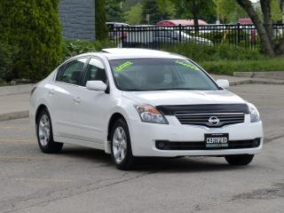 Used 2009 Nissan Altima LEATHER-HEATED,SUNROOF,ALLOYS,LOADED,NO-ACCIDENTS for sale in Mississauga, ON