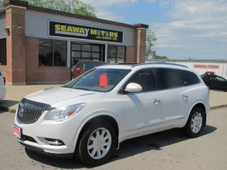 Used 2017 Buick Enclave Premium AWD for sale in Brockville, ON