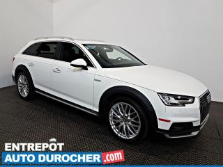 Used 2017 Audi A4 Allroad Technik AWD NAVIGATION - Toit Ouvrant - A/C - CUIR for sale in Laval, QC