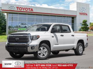 New 2020 Toyota TUNDRA 4X4 CREWMAX SR5 SR5 for sale in Whitby, ON