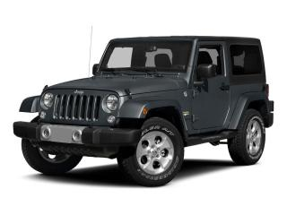 Used 2015 Jeep Wrangler 4WD 2dr Sport for sale in Mississauga, ON