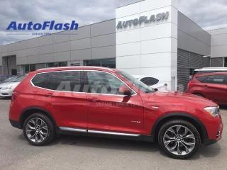 Used 2015 BMW X3 28i xDrive *GPS *Toit-Pano-Roof for sale in Saint-Hubert, QC