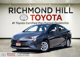 Used 2016 Toyota Prius 5dr Hb Touring for sale in Richmond Hill, ON