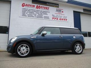 Used 2009 MINI Cooper Clubman S TURBOCHARGED, LOADED, LEATHER, PANO ROOF for sale in Swift Current, SK