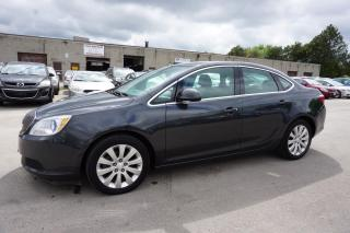 Used 2015 Buick Verano AUTO CERTIFIED 2YR WARRANTY *1 OWNER*FREE ACCIDENT* BLUETOOTH LEATHER CRUISE ALLOYS AUX for sale in Milton, ON