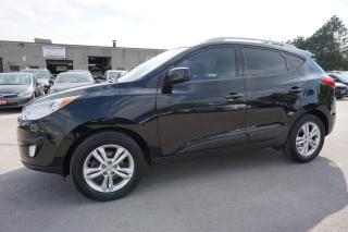 Used 2012 Hyundai Tucson GLS CERTIFIED 2YR WARRANTY *1 OWNER*FREE ACCIDENT* BLUETOOTH HEATED LEATHER CRUISE ALLOYS AUX for sale in Milton, ON