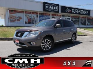 Used 2013 Nissan Pathfinder SL  AWD LEATH P/SEAT P/GATE HS BT for sale in St. Catharines, ON