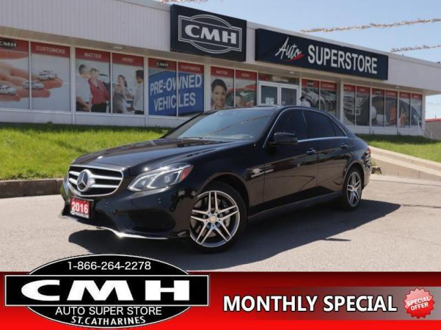 2016 Mercedes-Benz E-Class 550 4MATIC  4MATIC V8 ROOF LEATH