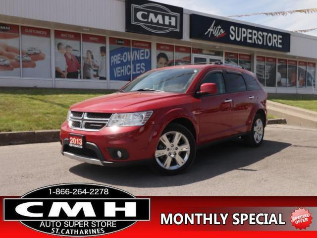 2013 Dodge Journey R/T  AWD LEATH HTD-STS ROOF REAR-CAM