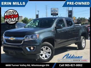 Used 2018 Chevrolet Colorado LT  DIESEL|TRAILER PKG|SAFETY PKG|REMOTE STRT| for sale in Mississauga, ON