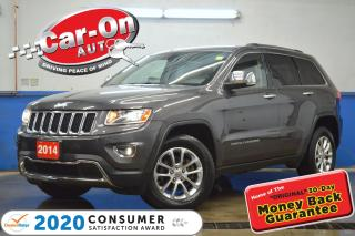 Used 2014 Jeep Grand Cherokee Limited AWD LEATHER REAR CAM HTD SEATS LOADED for sale in Ottawa, ON