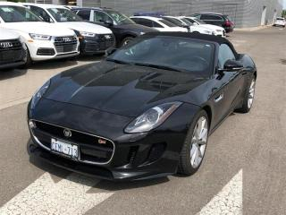 Used 2014 Jaguar F-Type S, CONVERTIBLE, 380HP, NAV, CAM, HEATED for sale in Toronto, ON