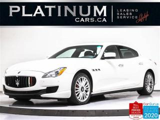 Used 2014 Maserati Quattroporte S Q4, 3.0L 404HP, AWD, NAV, CAM, SUNROOF, VENT for sale in Toronto, ON
