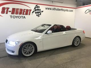 Used 2011 BMW 3 Series 2dr Cabriolet 335i RWD for sale in St-Hubert, QC
