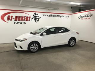 Used 2015 Toyota Corolla CVT LE, CAMÉRA DE RECUL for sale in St-Hubert, QC
