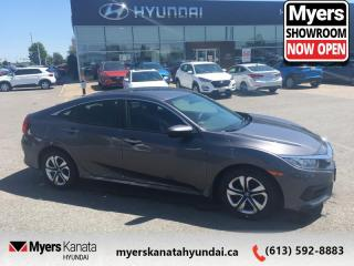 Used 2016 Honda Civic Sedan LX  - $104 B/W for sale in Kanata, ON