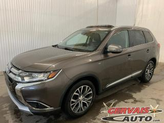 Used 2016 Mitsubishi Outlander GT AWD V6 7 Passagers Mags Cuir Toit ouvrant Caméra *Audio Rockford Fosgate* for sale in Trois-Rivières, QC