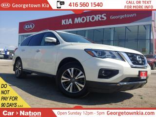 Used 2017 Nissan Pathfinder SL 4WD | LEATHER | 7 PASS | 360 CAM | P/GATE | for sale in Georgetown, ON