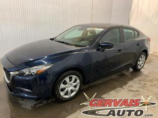 Used 2018 Mazda MAZDA3 GX Caméra GPS A/C Bluetooth for sale in Trois-Rivières, QC