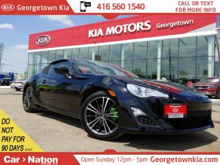 Used 2015 Scion FR-S 6 SPEED M/T| UPGRADED EXHAUST| PIONEER SOUND | B/T for sale in Georgetown, ON