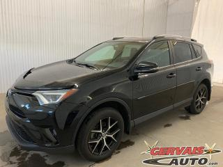 Used 2016 Toyota RAV4 SE AWD Cuir GPS Toit ouvrant Mags * nn Traction intégrale* for sale in Trois-Rivières, QC